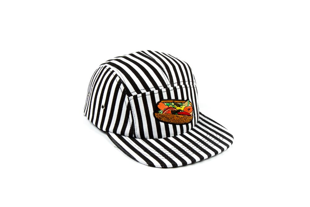 CHICAGO DOG HAT STRIPE