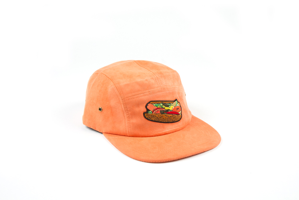 CHICAGO DOG HAT PEACH
