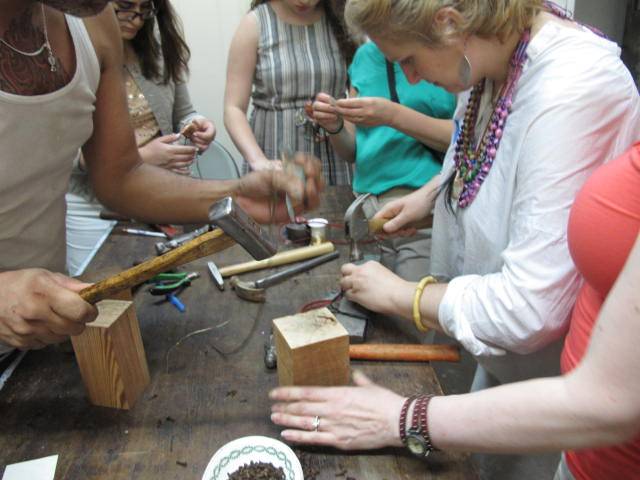 amulet making workshop
