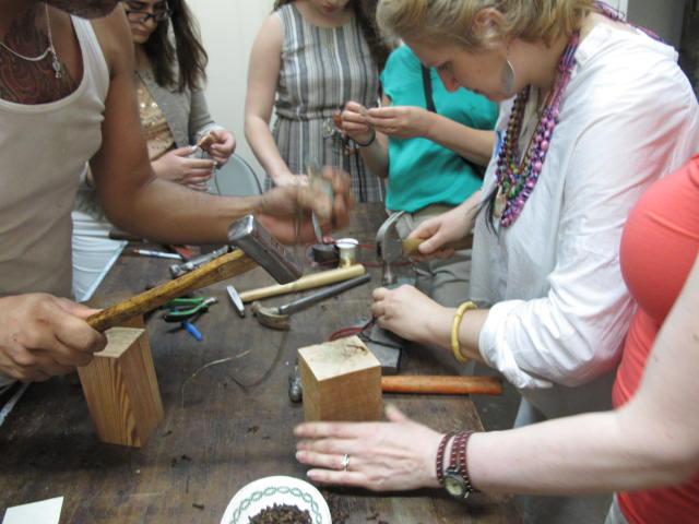 amulet making workshop