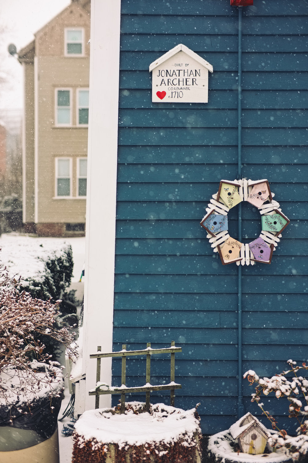 House Plaque, Salem, MA - Feb. 2018 © Joseph Ferraro