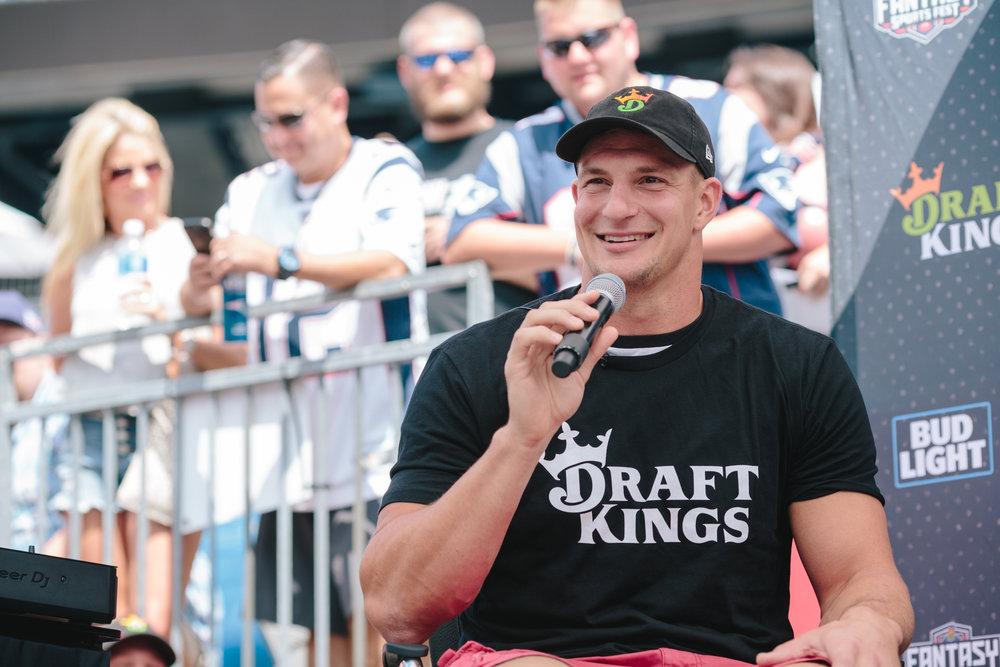 Rob Gronkowski - DraftKings Fantasy Sports Fest