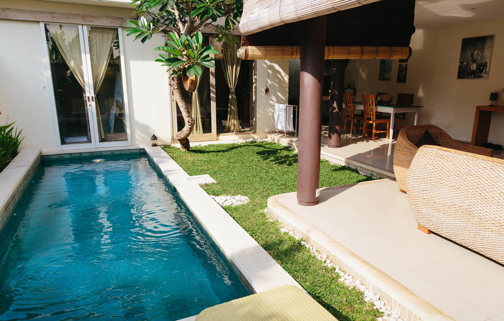 Accomodations in Seminyak