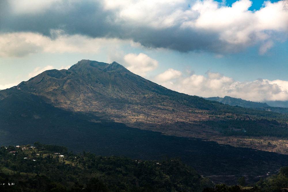 Mt. Batur volcano