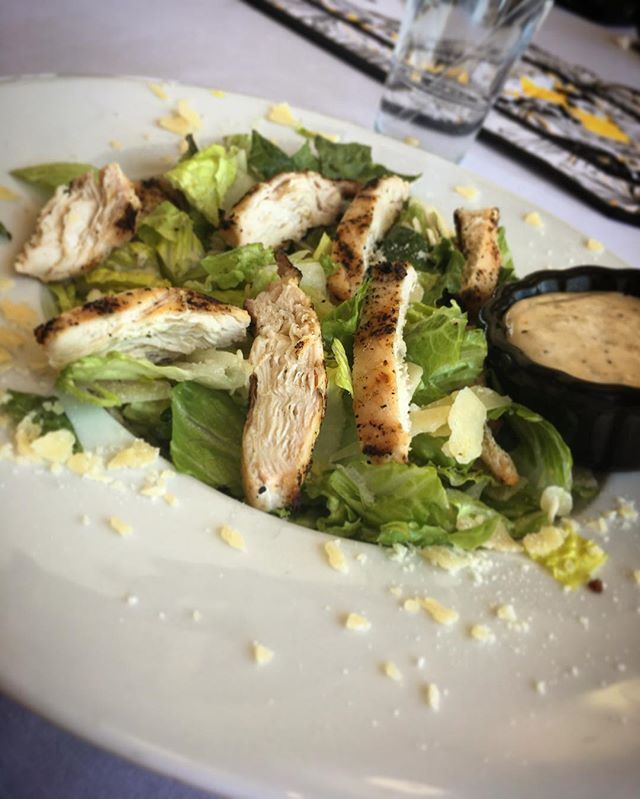 Come by this week and enjoy a Chicken Caesar Salad as you cheer on your favorite ACC team in the NCAA. #winstonsalem #acc #ncaabasketball #ncaa