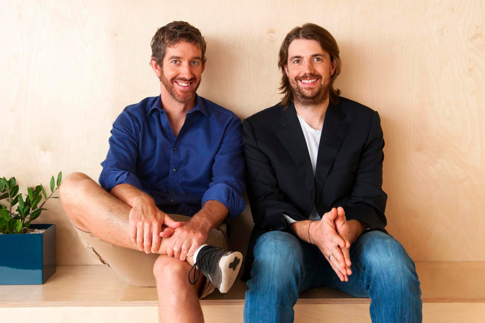 Atlassian co-founders Scott Farquhar & Mike Cannon-Brookes