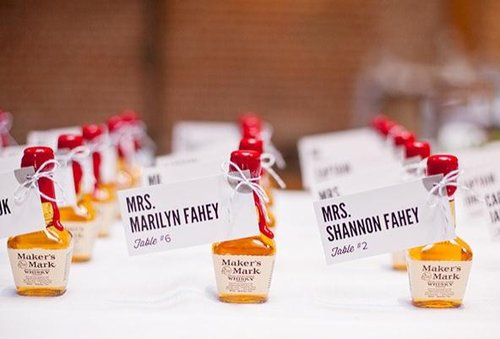 tumblr.com Mini liquor bottles as escort cards | photography by Annie… Mini liquor bottles as escort cards | photography by Annie McElwain Photography