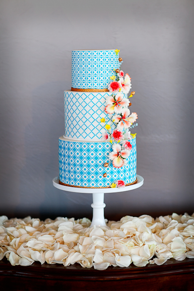 bridalsnob: So lovely. | created by Sweet Cakes by Karen