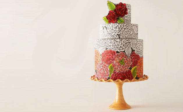 bridalsnob :     Wedding cake 2.0