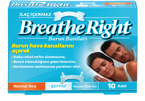 *BREATHE RIGHT* ŞEFFAF