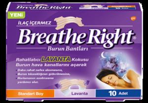 *BREATHE RIGHT* LAVANTA