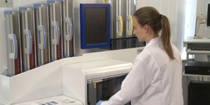 Biomerieux Equipment Setup