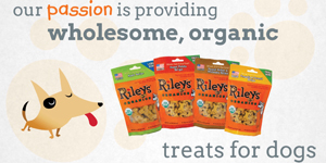 Riley's Organic Dog Treats - Animation / Product
