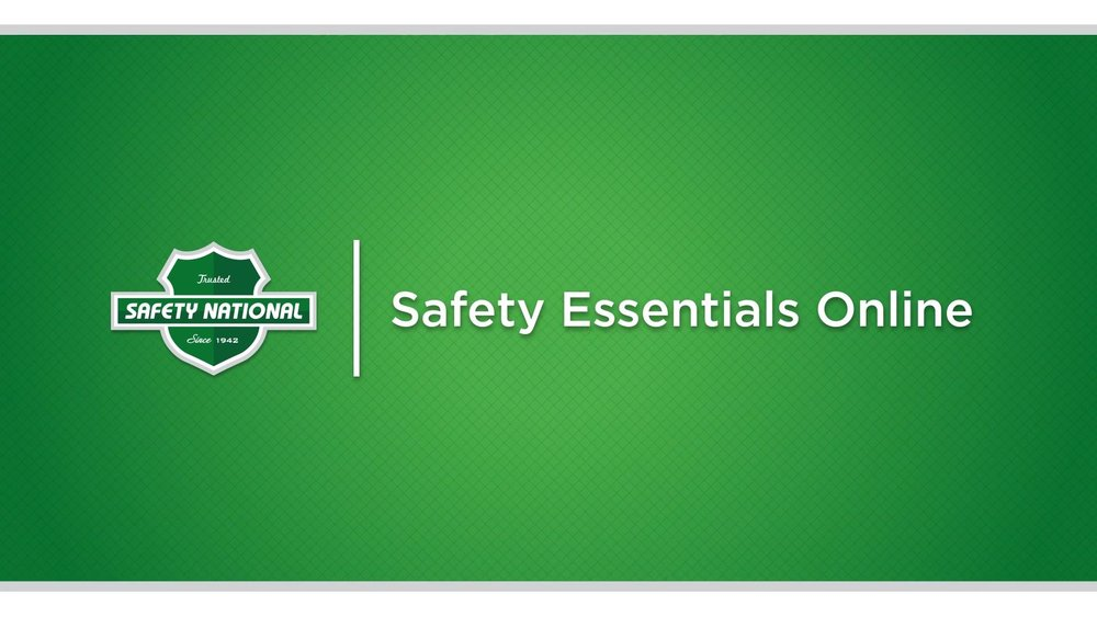 Safety National Safety Essentials Online