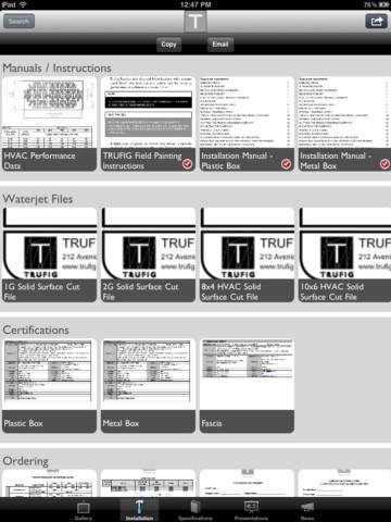 TRUFIG iPad App