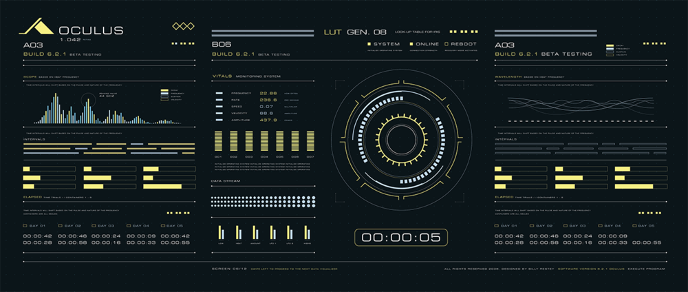 Sci-Fi UI Design by Billy Restey
