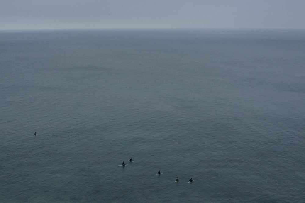 """Surfers at Point Dume #1"" 2014"