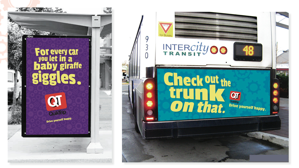 Off-site advertising is all about making you smile