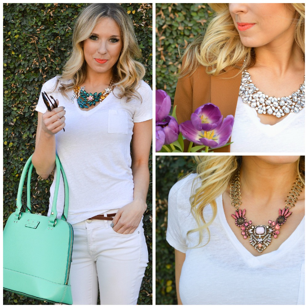 Lucky You / Statement Necklace / St. Patty's Day Style / Dallas Fashion Blogger
