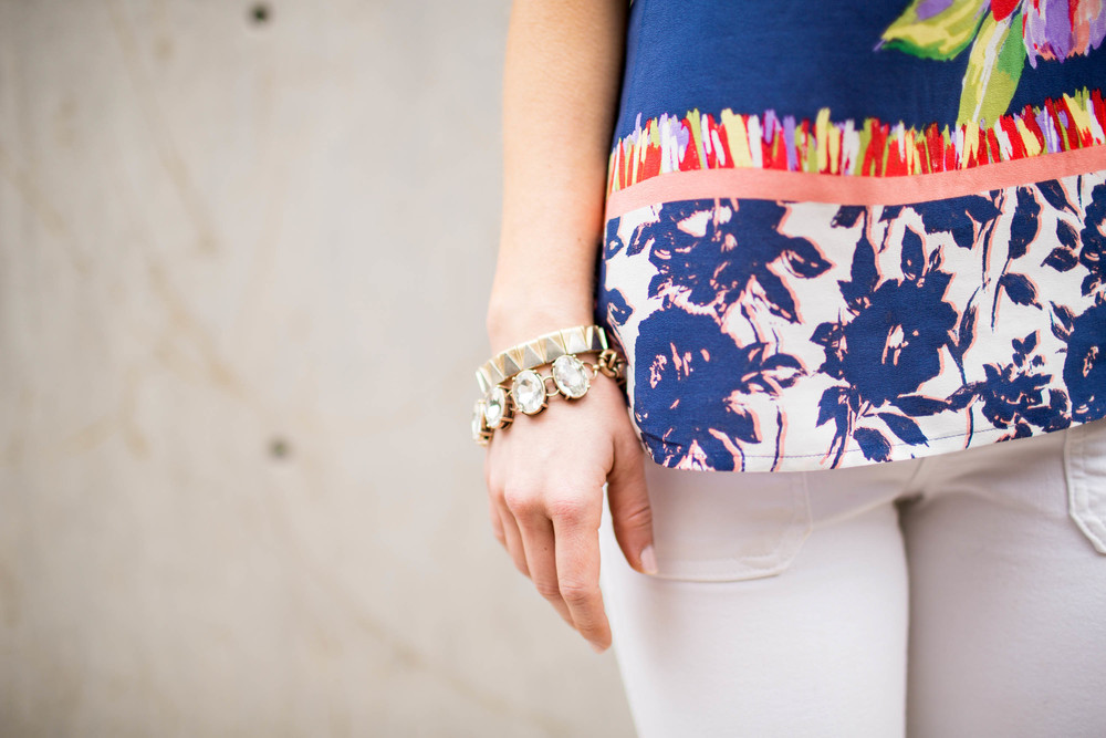 Floral Print / Anthropologie / Accessory Jane / Dallas Fashion Blogger