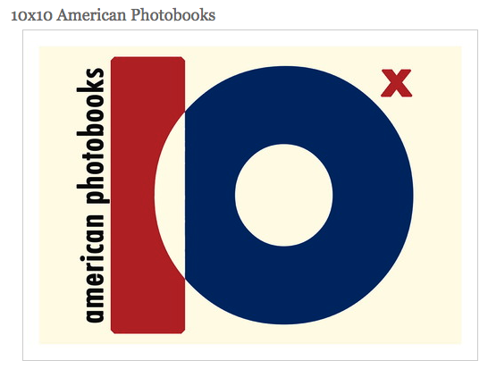 Adam Bell selected Transfigurations as one of his top ten photobooks for 10x10 American Photo Books. Check out his blog.