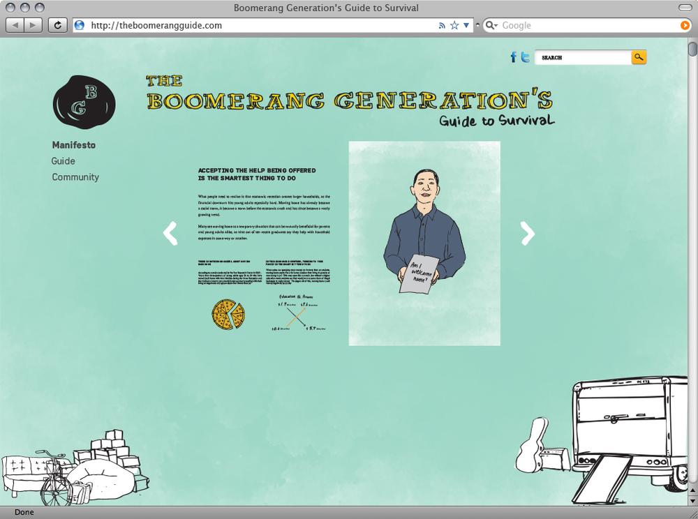 Website Manifesto Page