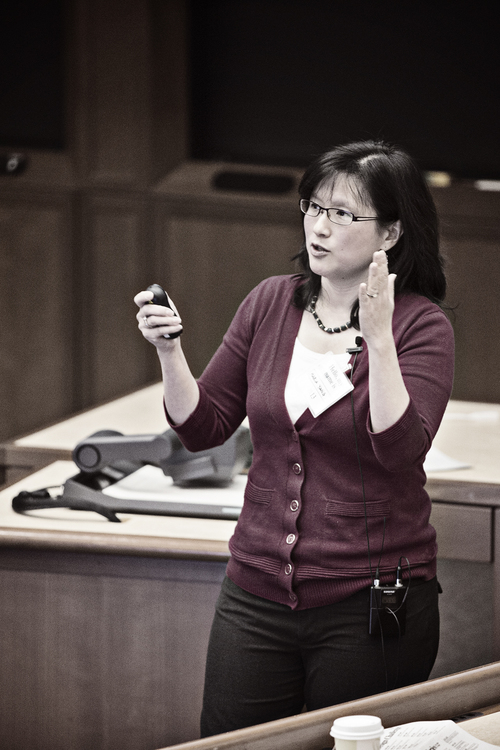Maria Yang speaking at xDesign Conference at Harvard, Jan 2013