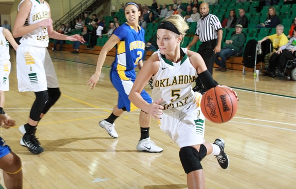 #5 Allie Brandenburg (photo borrowed from the OBU Athletics website without permission)