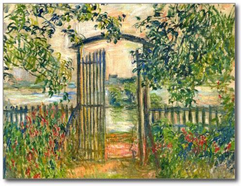 Monet's Garden Gate