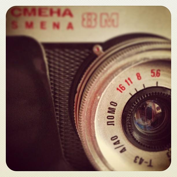My grandma's Lomo Smena 8M.