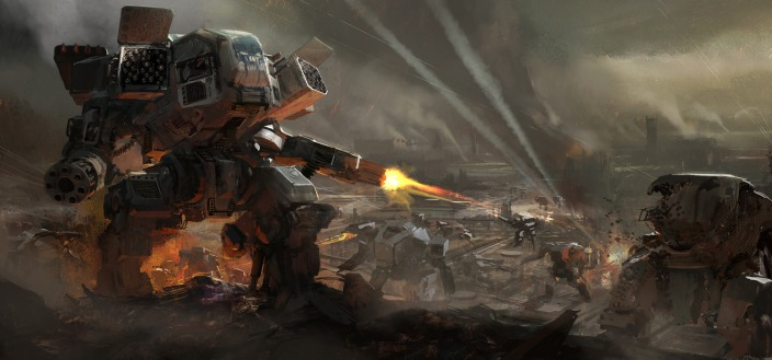Old mech warrior!