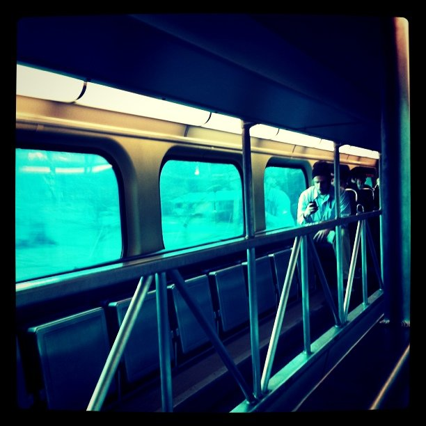 Commute (Taken with instagram)