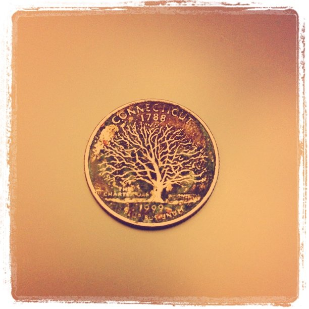 Cool quarter. (Taken with instagram)