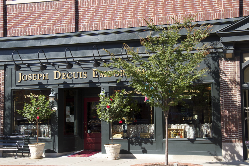 Joseph DeCuis Emporium--the perfect spot for lunch and to pick up items for dinner!