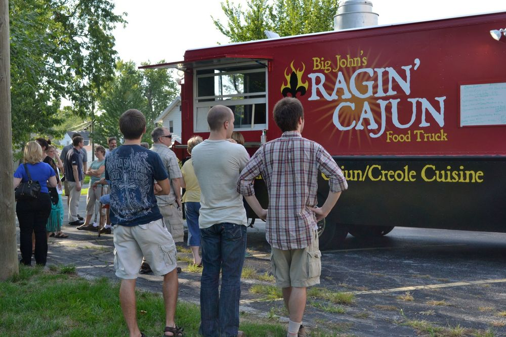 The Ragin' Cajun Food Truck will keep your energy going during the Fair!