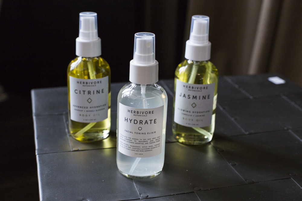 A hydrating facial mist is a must-have for supple, radiant skin and can be spritzed throughout the day, even over makeup. Body oils provide skin with advanced hydration and a subtle glow.