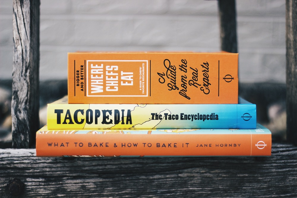 The latest and greatest resources in store for our favorite foodies.