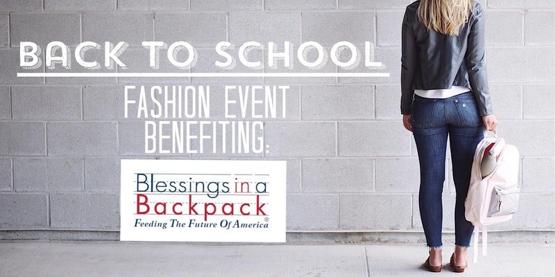 BACK TO SCHOOL FASHION EVENT