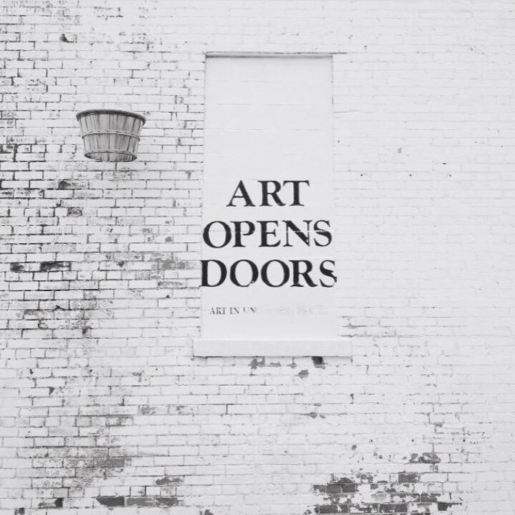 art opens doors