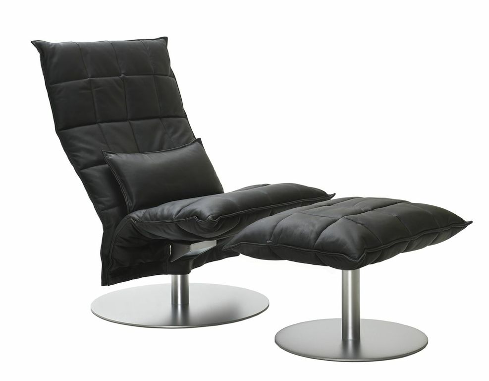 Swivel K Chair Leather