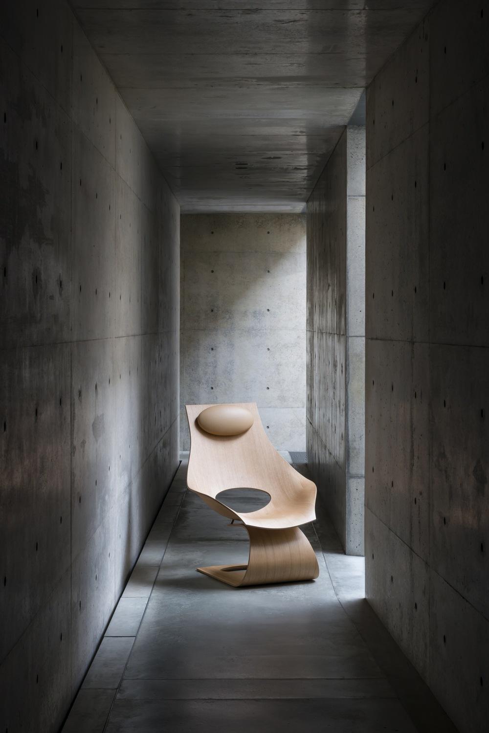 Tadao Ando's Dream Chair