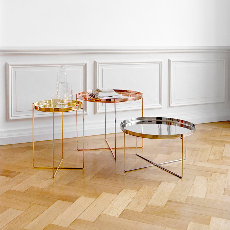 e15 Habibi Tray and Side Table