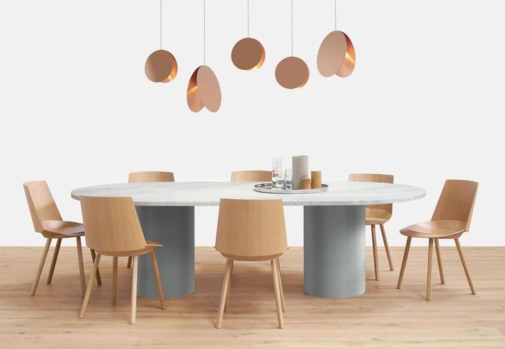 Hiroki Oval Table