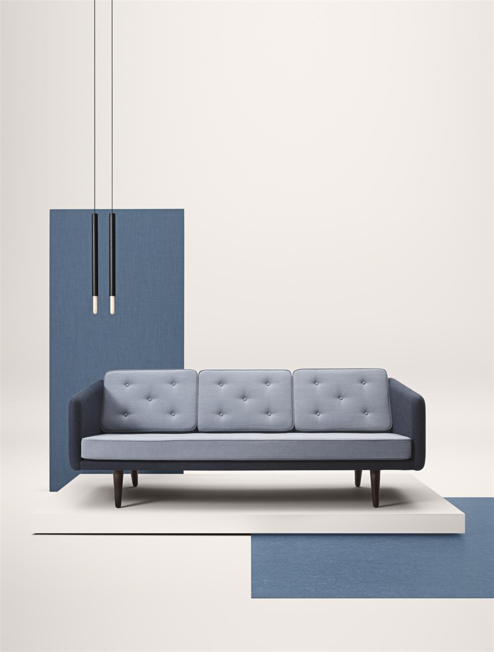 Fredericia No 1 Sofa - 3 seat