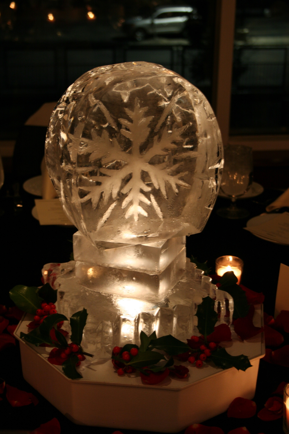 Tabletop-Ice Sculpture- Snowflake 6 copy.JPG