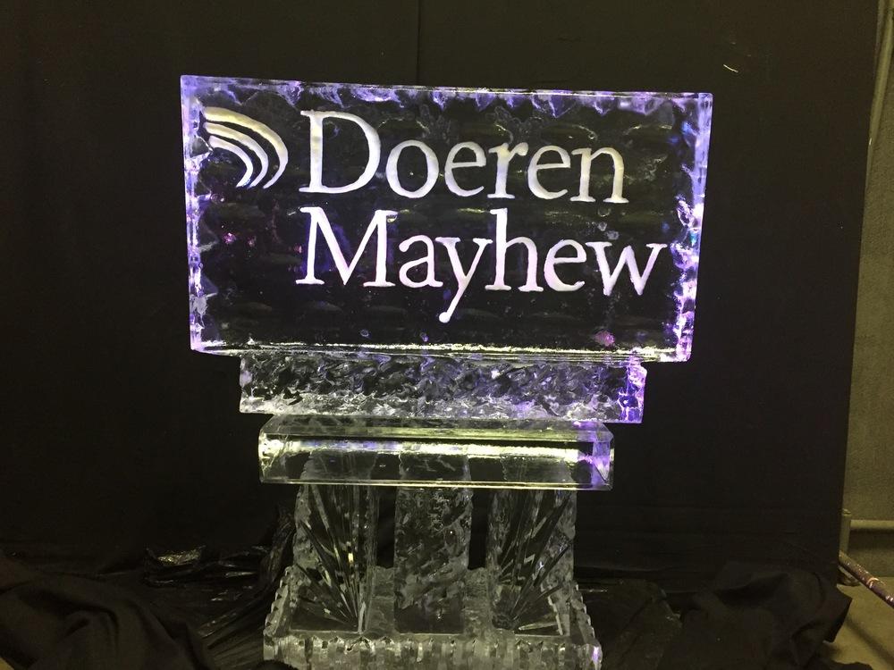 Doeren Mayhew Logo_Ice Sculpture.jpg