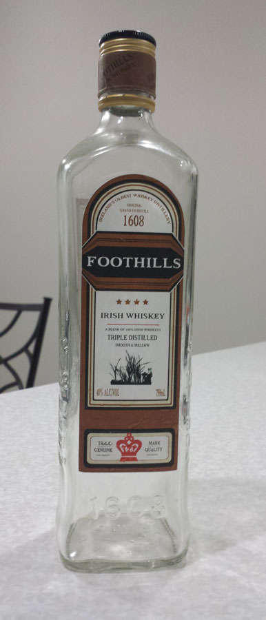 Foothills Whiskey