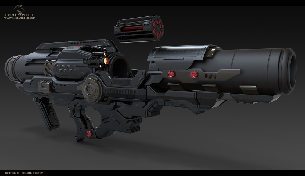Assault Rifle | Section 8 | Fandom powered by Wikia