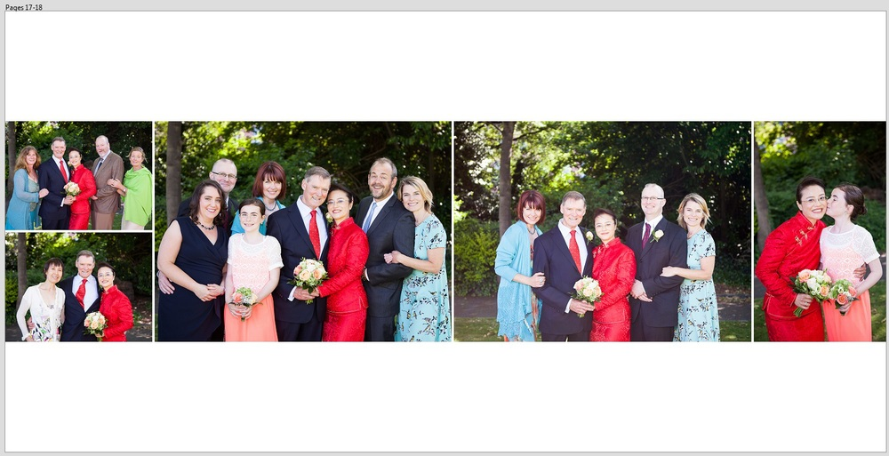 Civil ceremony - Family portraits - Merrion square