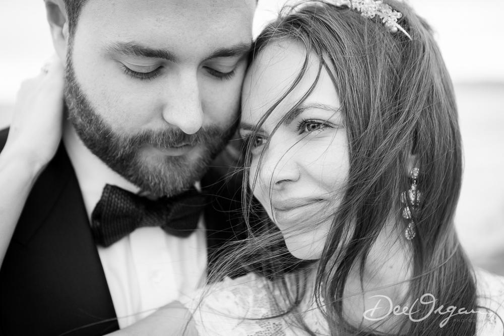 Dalkey beach wedding photography